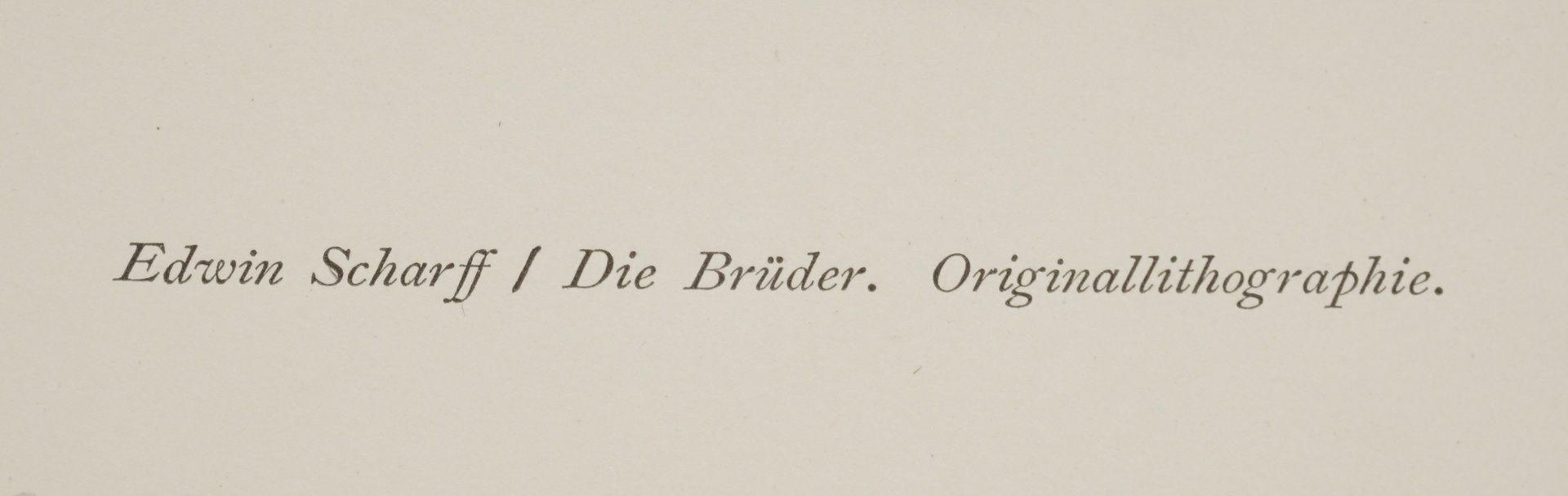 """Edwin Scharff, """"Die Brüder"""" - Bild 4 aus 4"""