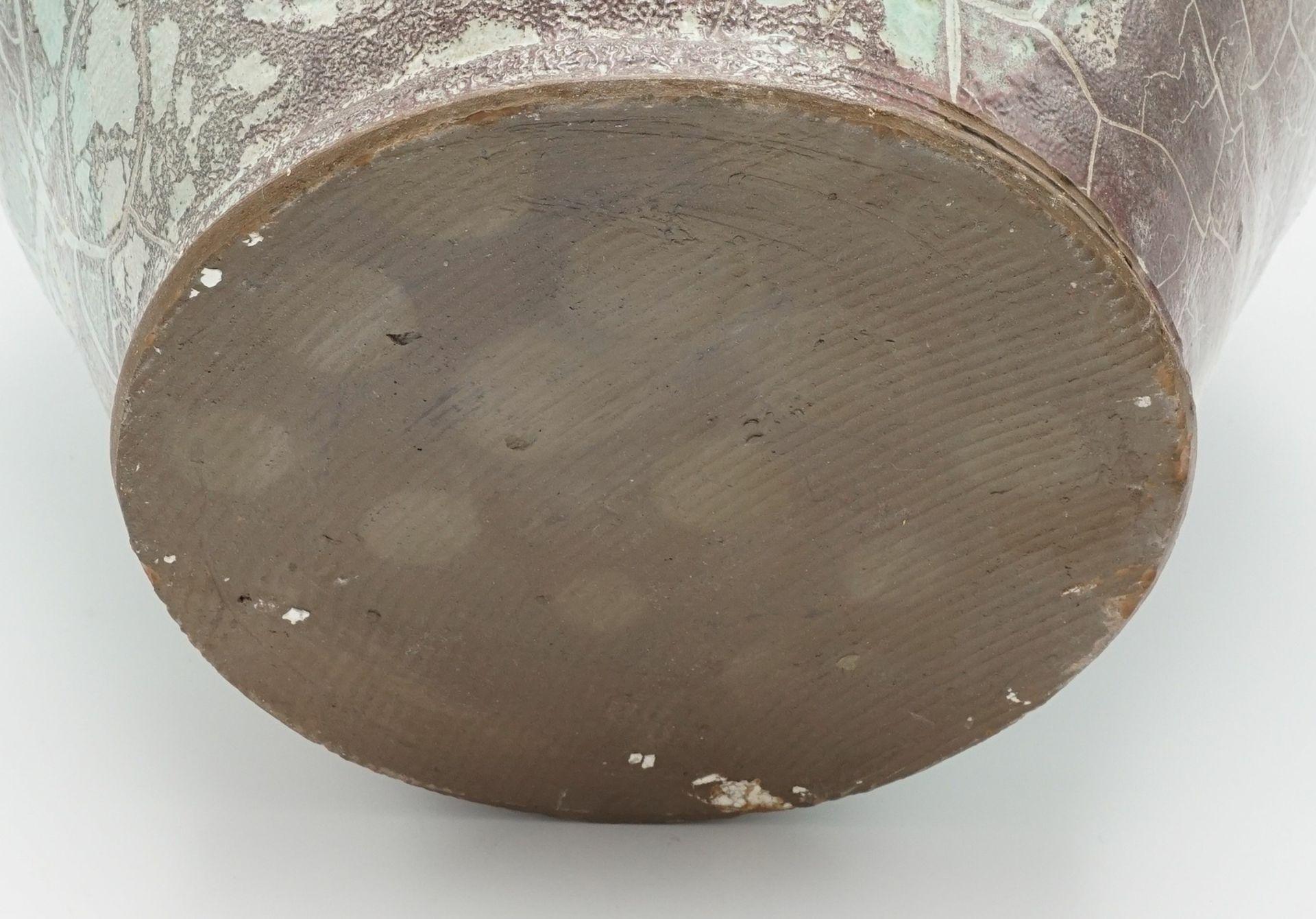 Uwe Schellbach Bodenvase, 2. Hälfte 20. Jh. - Bild 5 aus 5