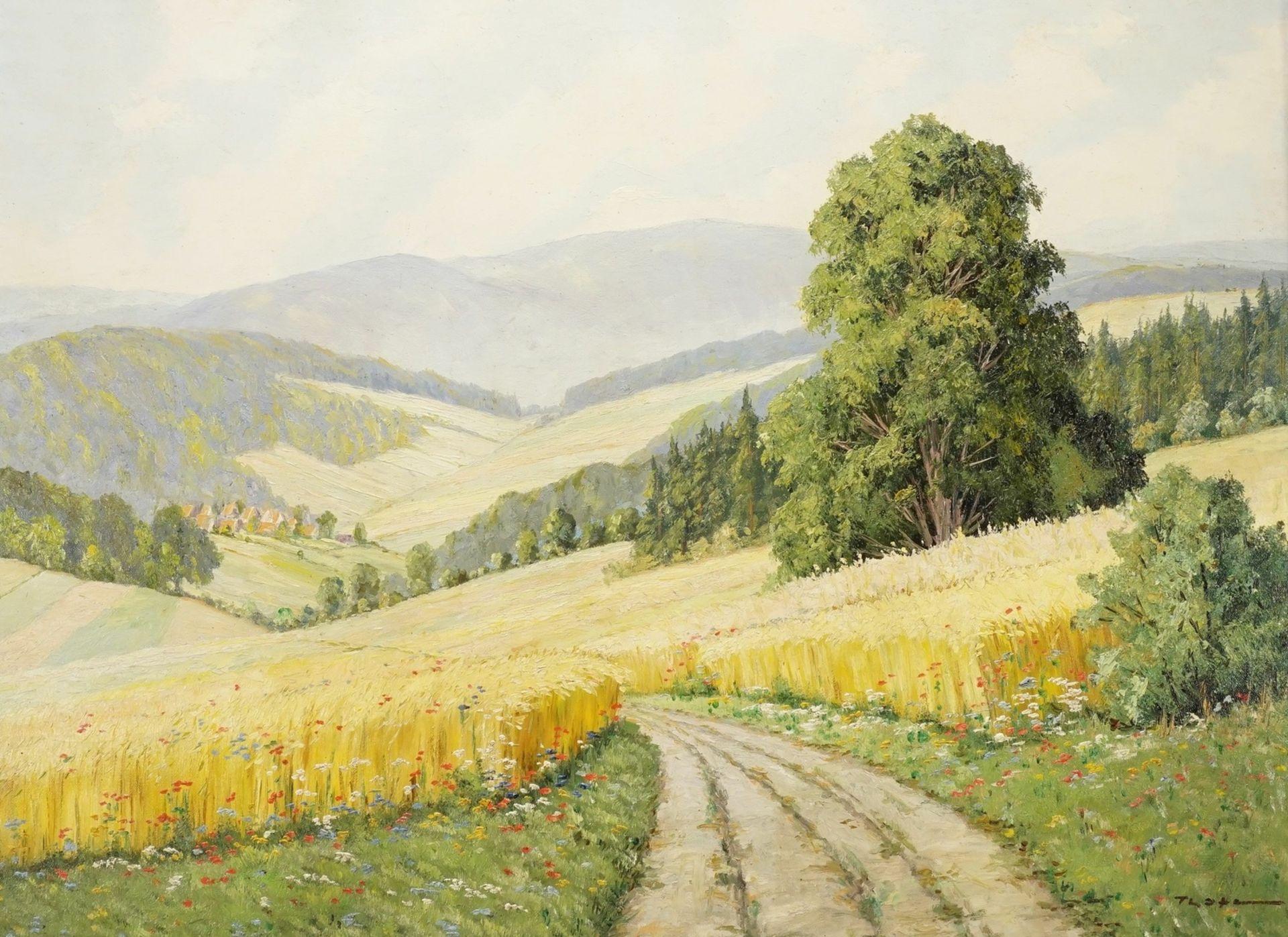 Fritz Thate, Sommerfelder
