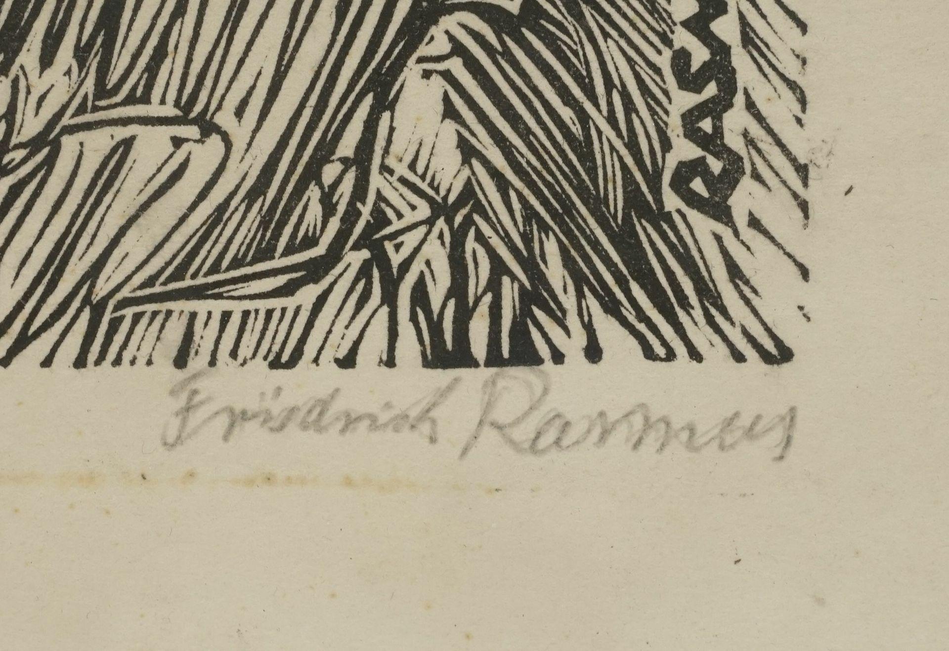 Claus Friedrich Rasmus, Portrait von Benedix Passig - Bild 4 aus 4
