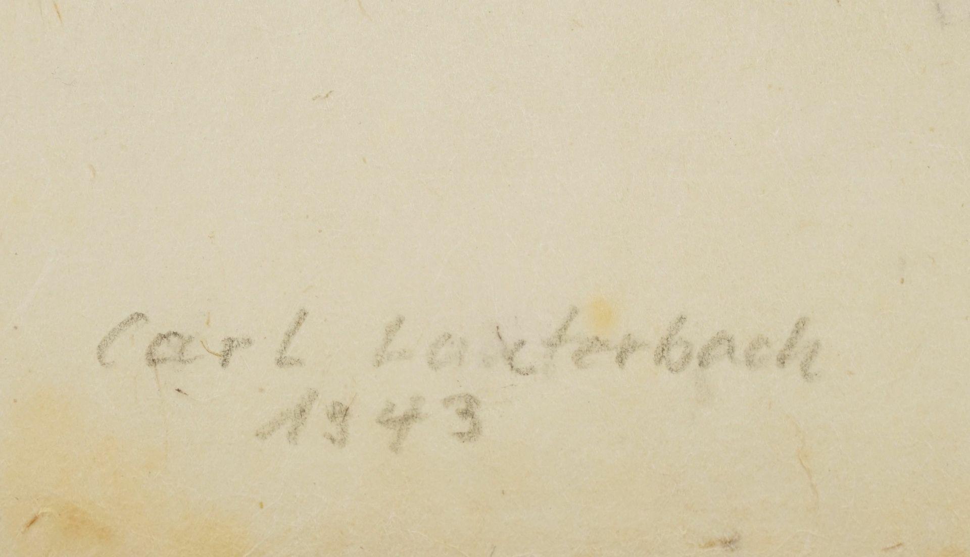 Carl Lauterbach, Junge Dame mit großem Kragen - Bild 4 aus 4