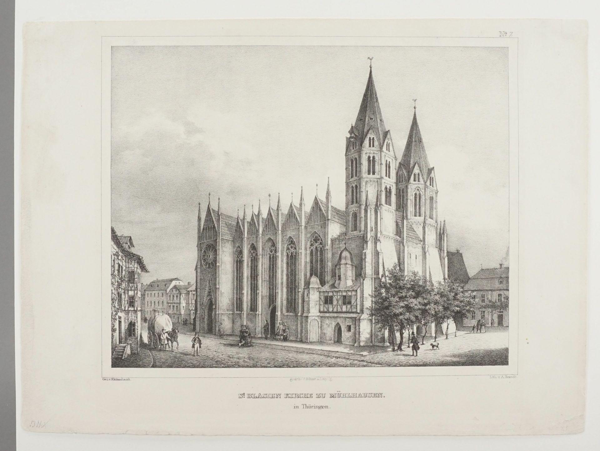 St. Blasien Kirche zu Mühlhausen in Thüringen - Bild 3 aus 3