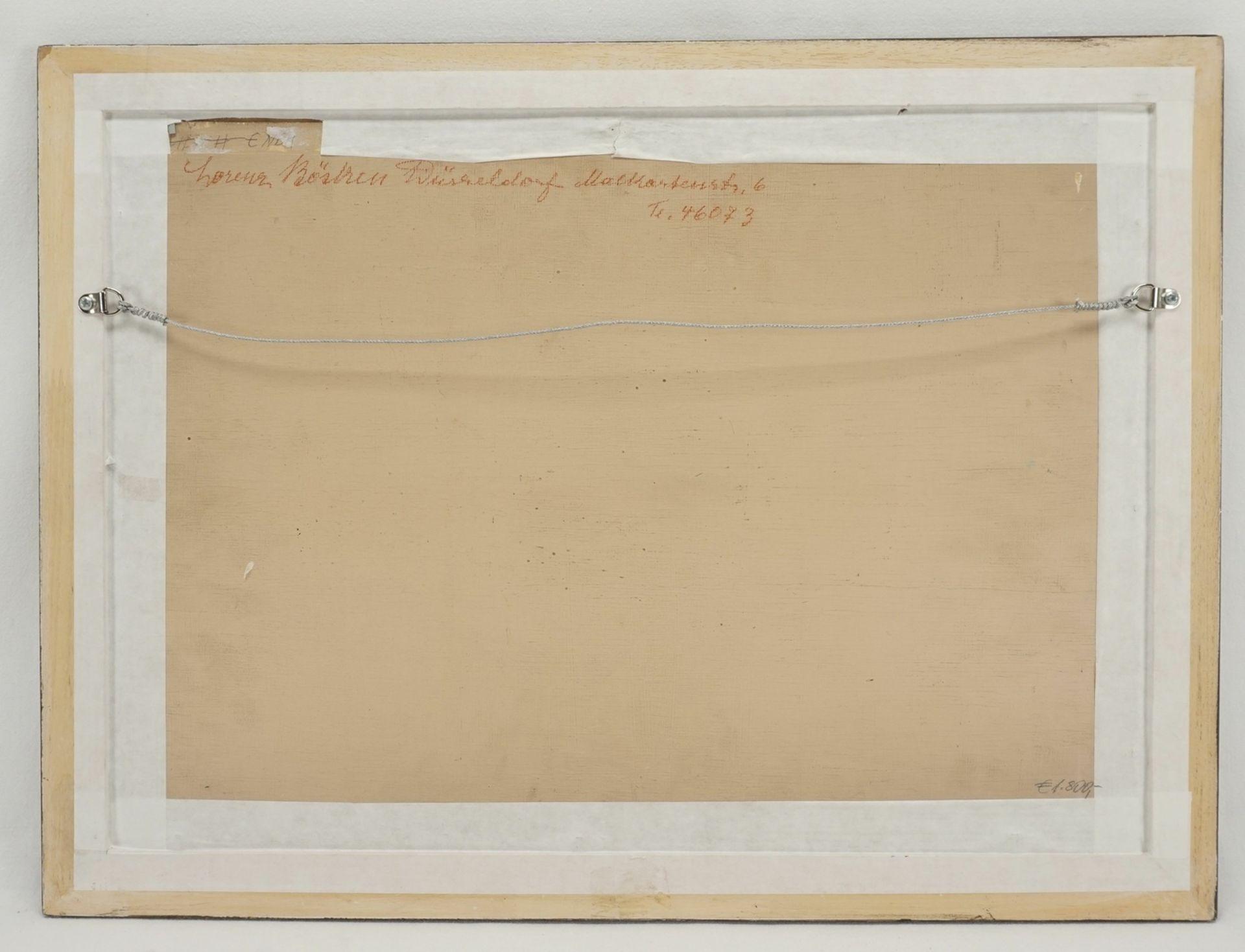 Lorenz Bösken, Pferde auf der sommerlichen Koppel - Bild 3 aus 3