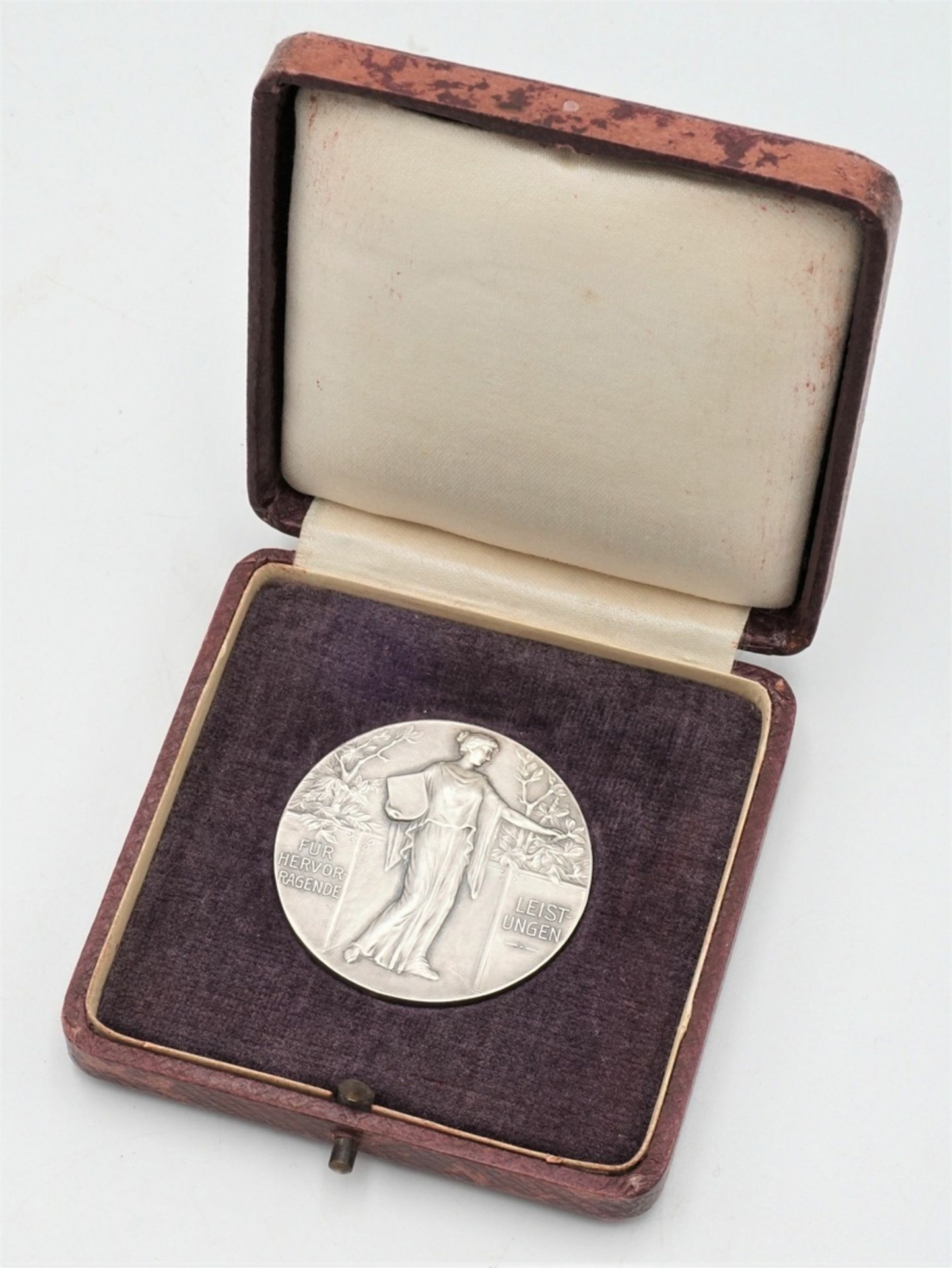 Silbermedaille Halberstadt, 1930