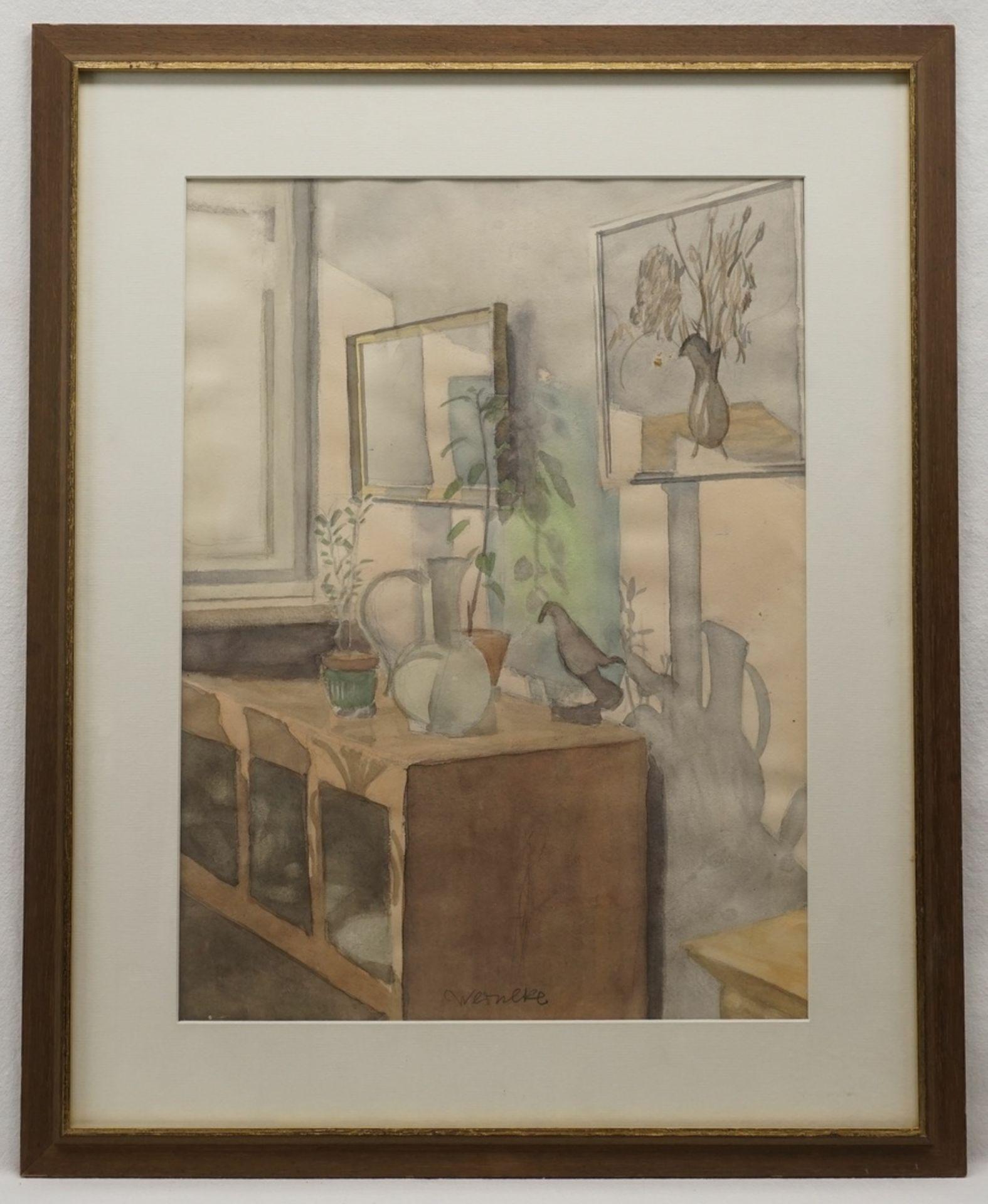 """Franz Werneke, """"Stillleben am Fenster"""" - Bild 2 aus 3"""