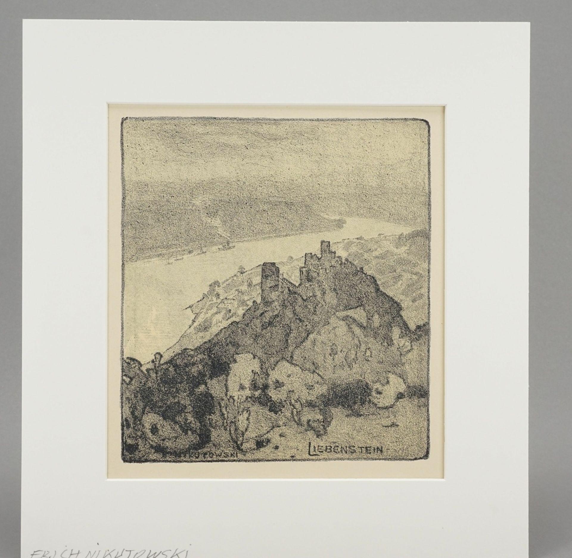 """Erich Nikutowski, """"Liebenstein"""" - Bild 2 aus 4"""