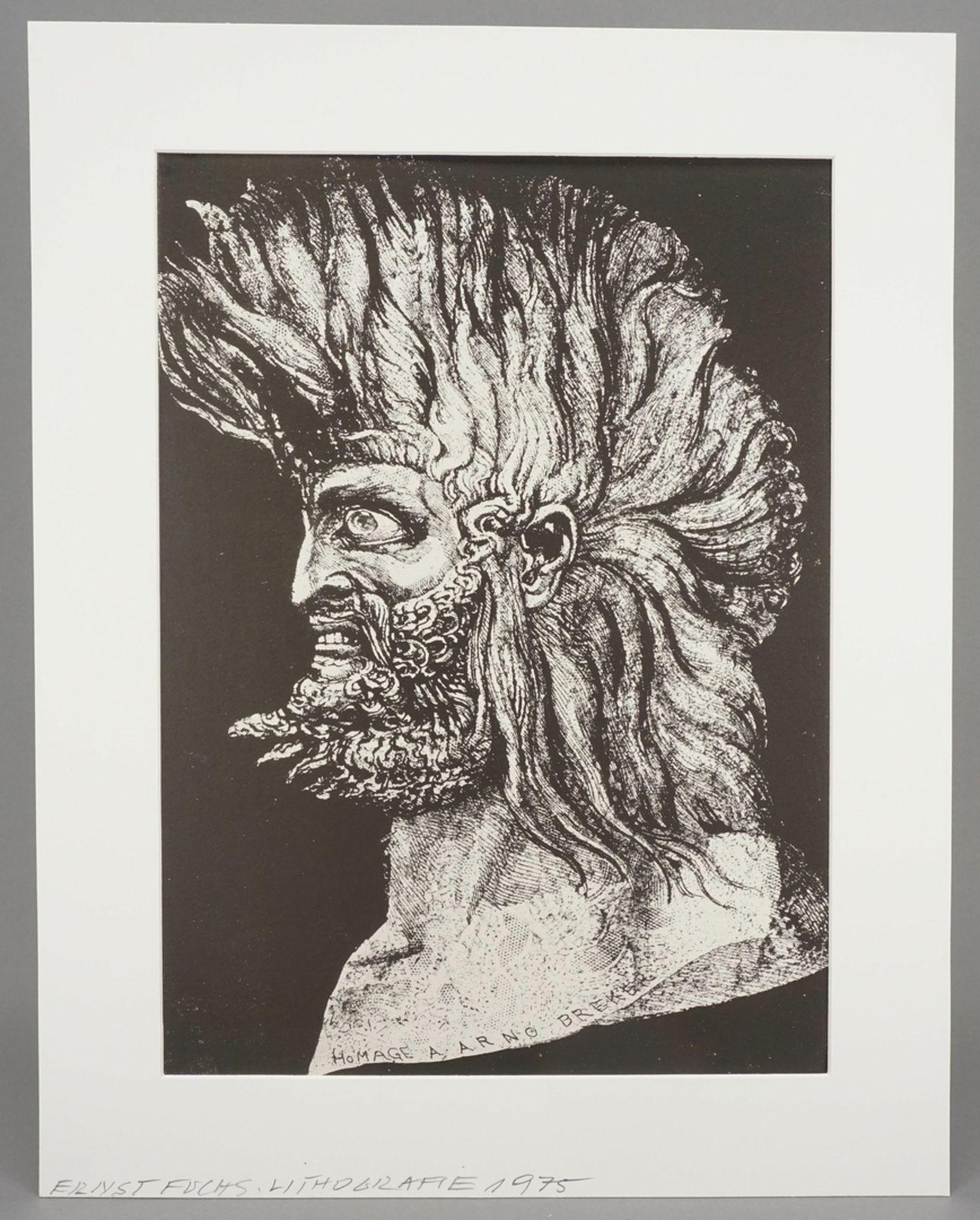 """Ernst Fuchs, """"Der junge Moses"""" - Bild 2 aus 5"""