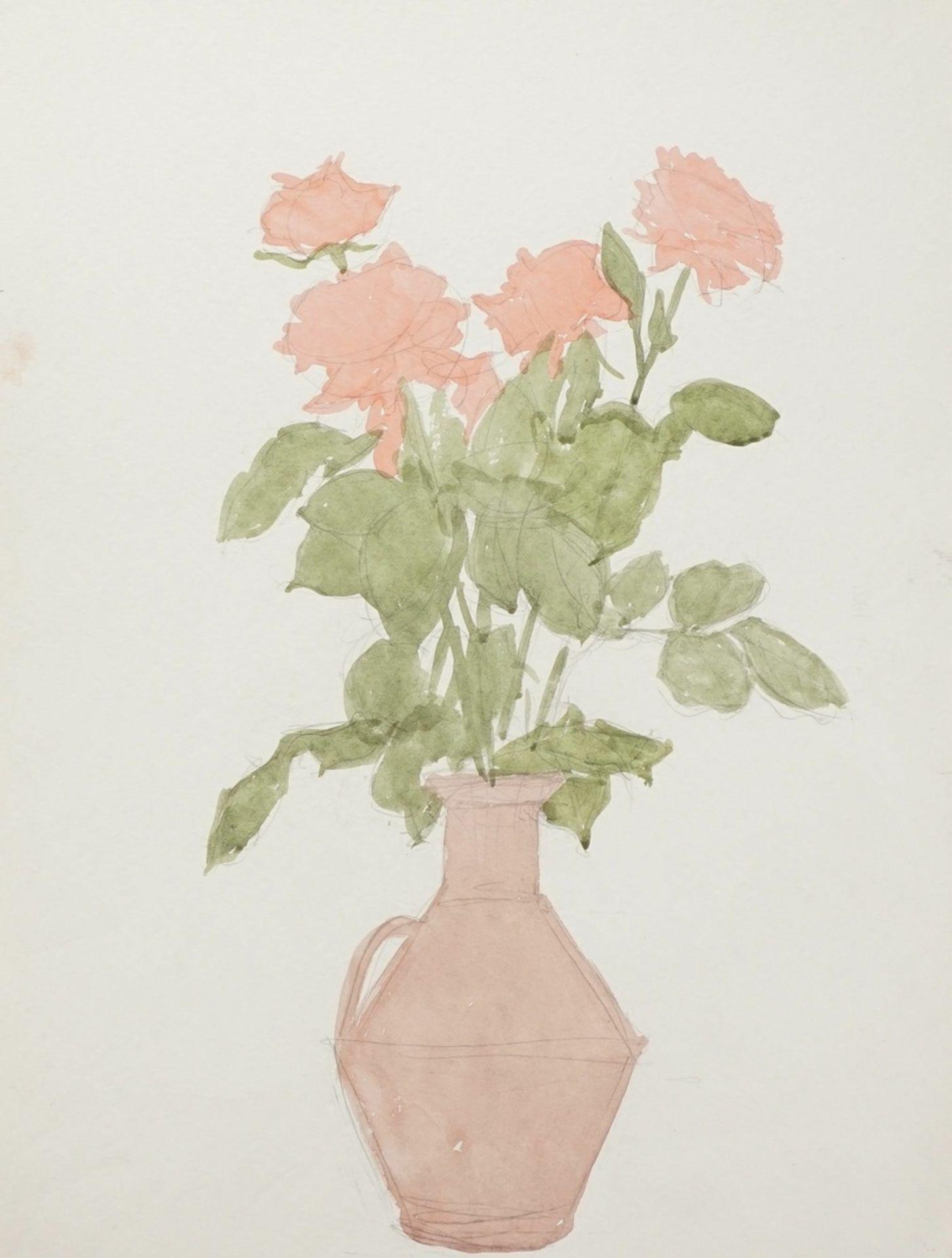 Franz Werneke, Rosen im Tonkrug