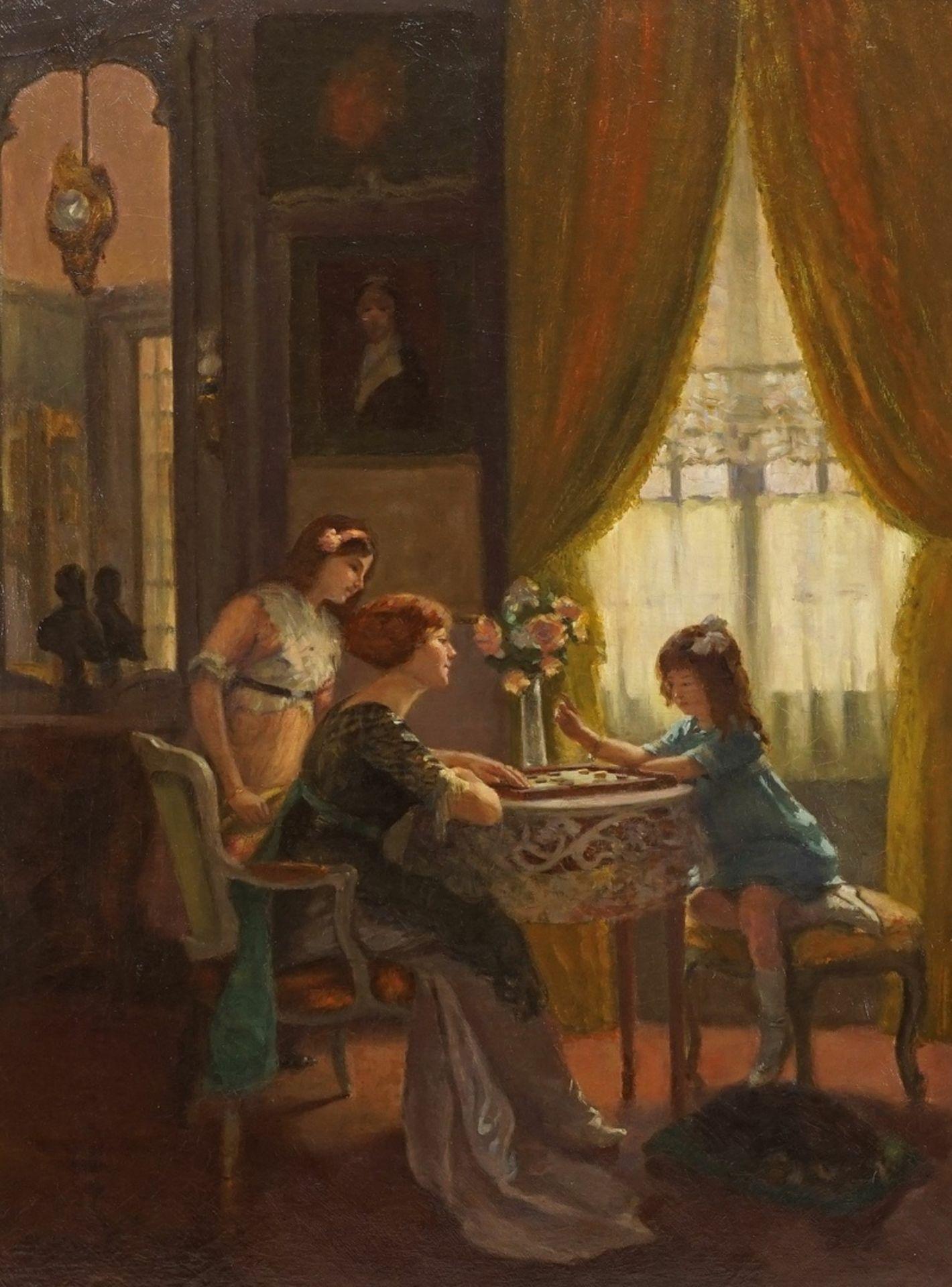 """Suzanne Hurel, """"Mutter und Töchter im Spiel"""" - Bild 2 aus 4"""