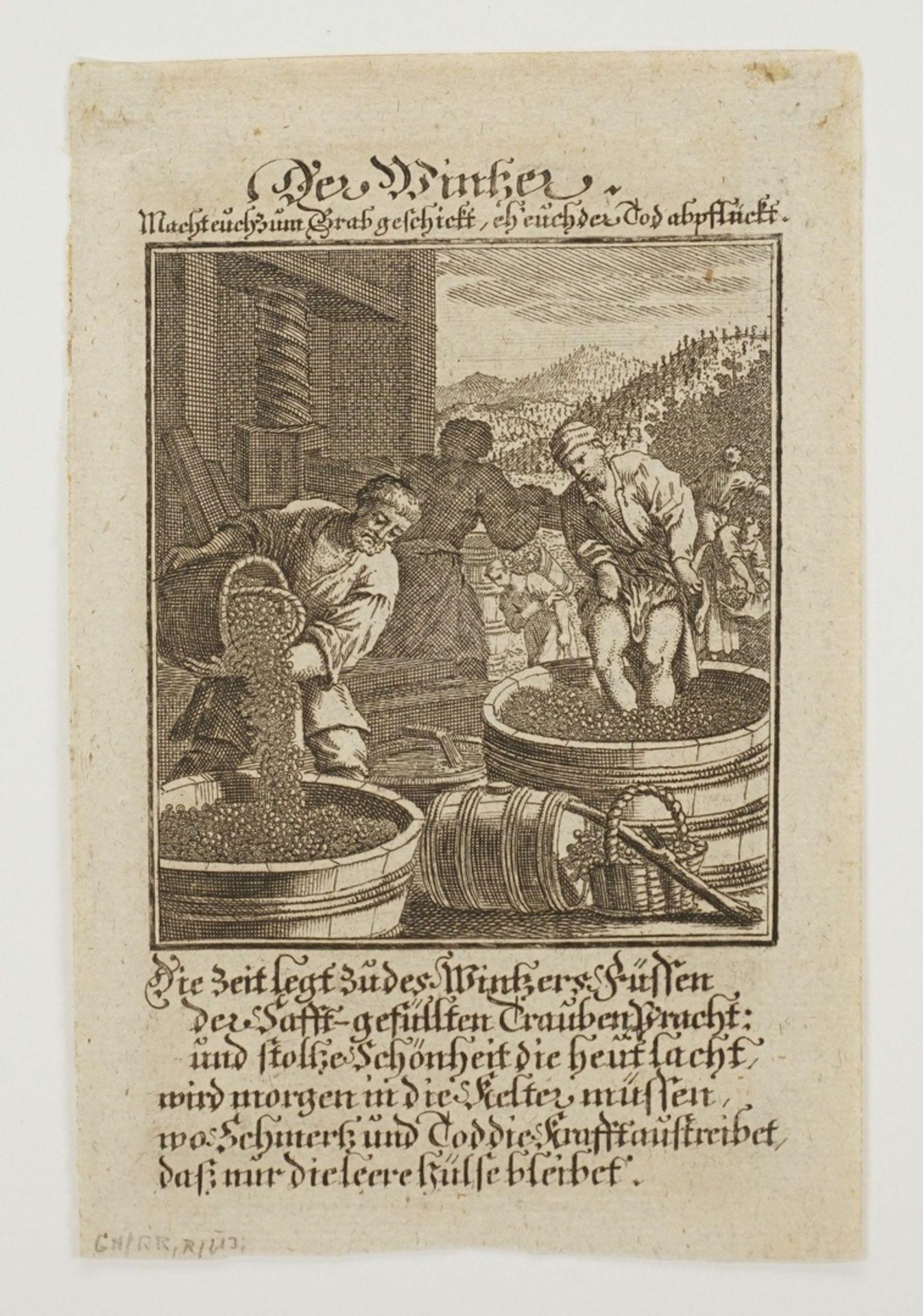 """Christoph Weigel der Ältere, """"Der Wintzer"""" - Bild 3 aus 3"""