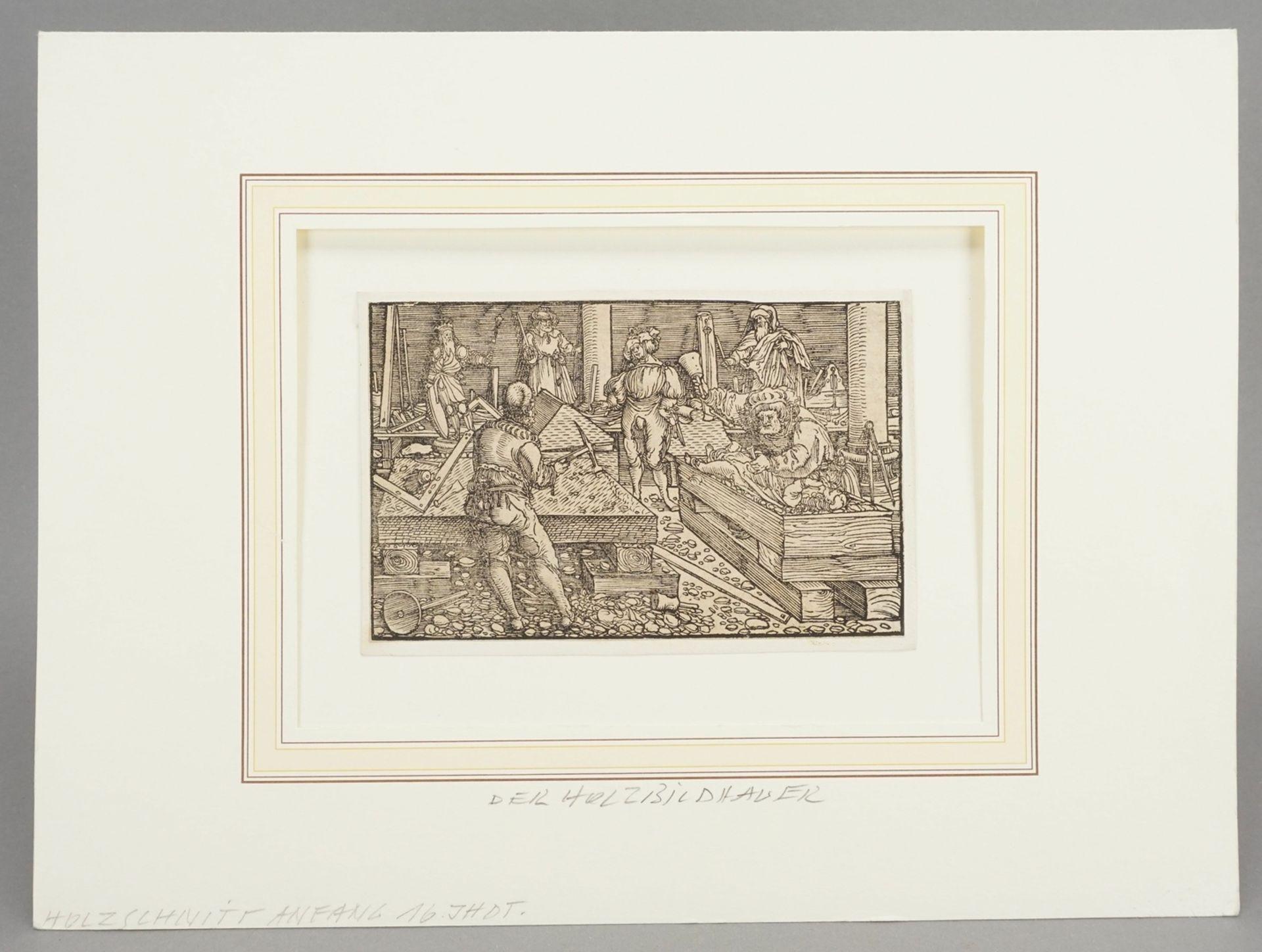 Umkreis Petrarcameister, Der Holzbildhauer - Bild 2 aus 3
