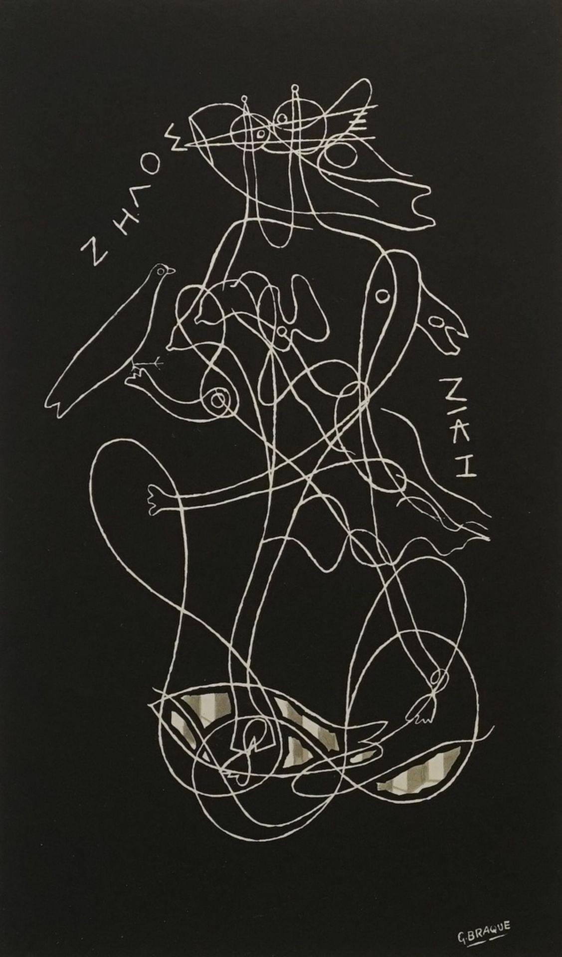 """Georges Braque, """"Zeus und Nike"""""""