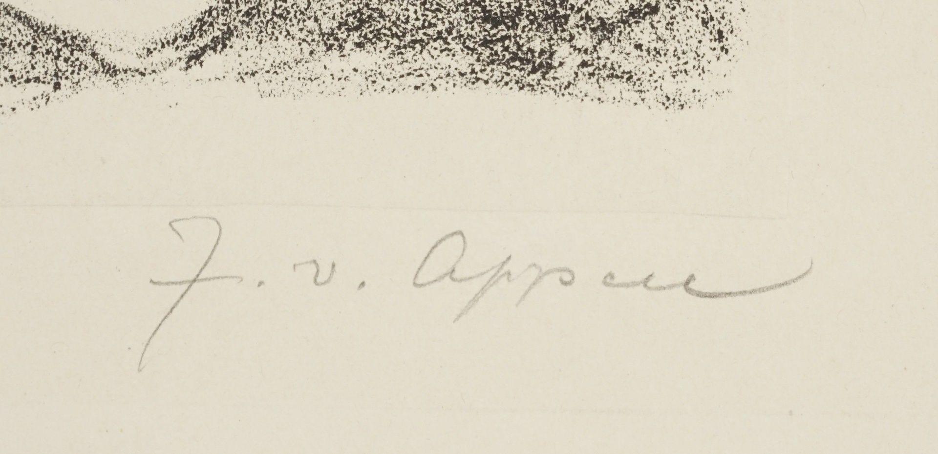 """J. von Appen, """"Portrait Friedrich von Schiller"""" - Bild 4 aus 4"""
