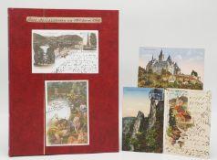 96 Ansichtskarten / Postkarten Harz