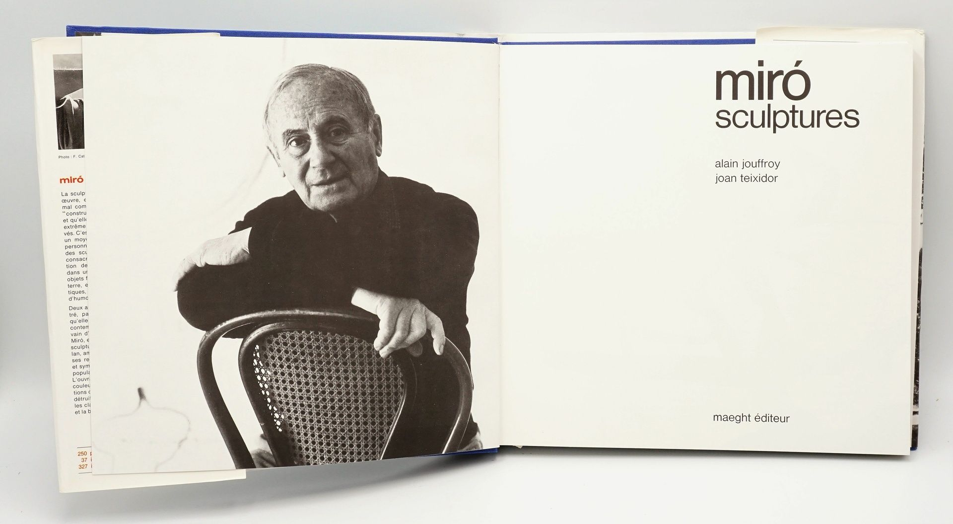 "Joan Miró Ausstellungskatalog und ""Miró Sculptures"" - Bild 3 aus 4"