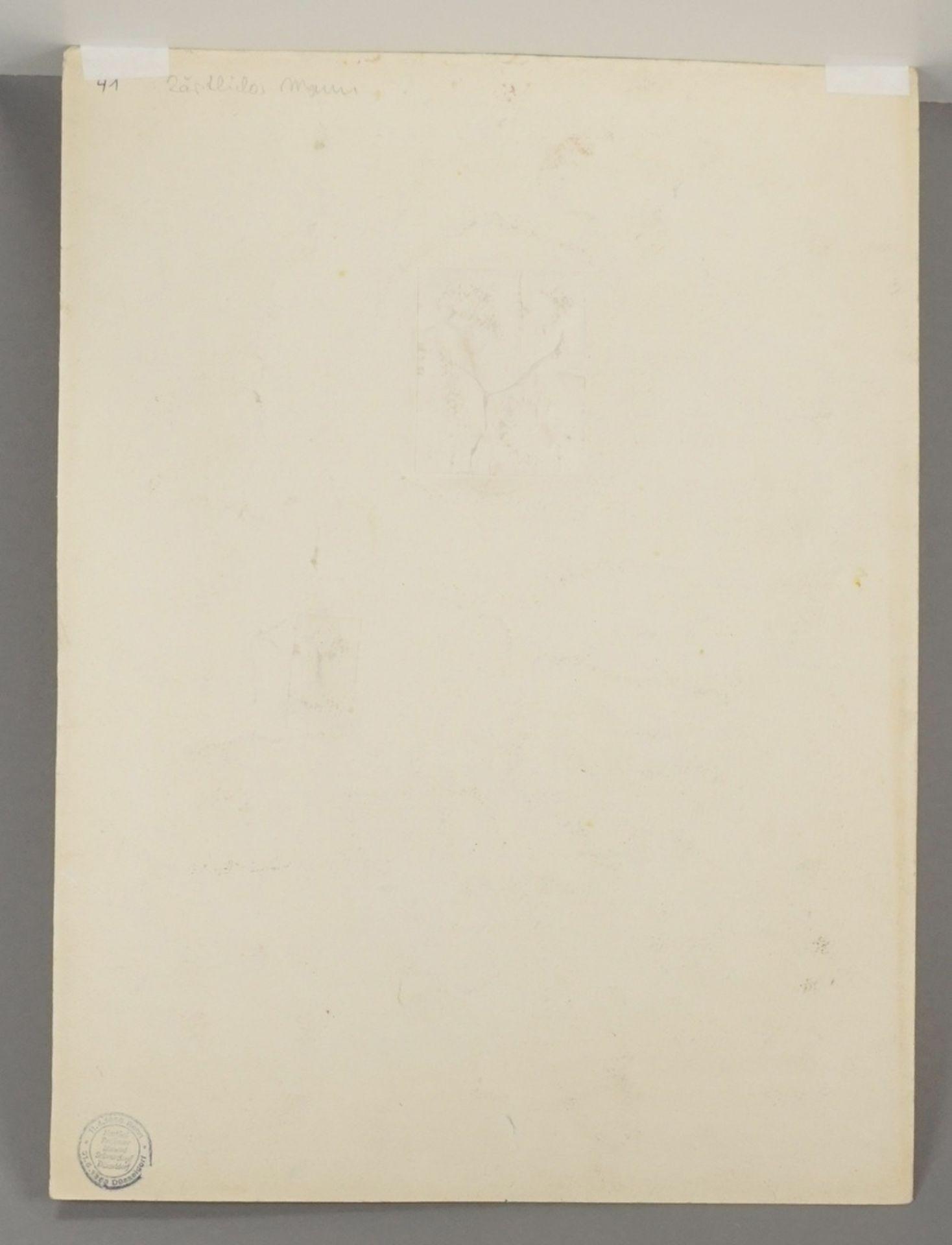 Richard Schwarzkopf, Figurenpaar mit Tonkrug (Isaak und Rebekka ) - Bild 4 aus 5