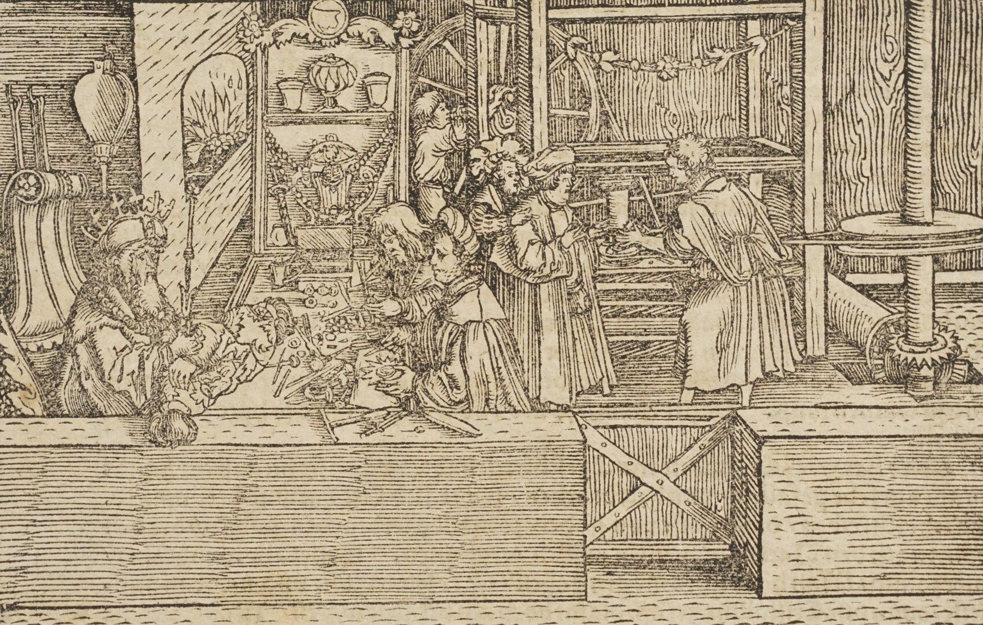 Petrarcameister, Der Gold- und Silberschmied