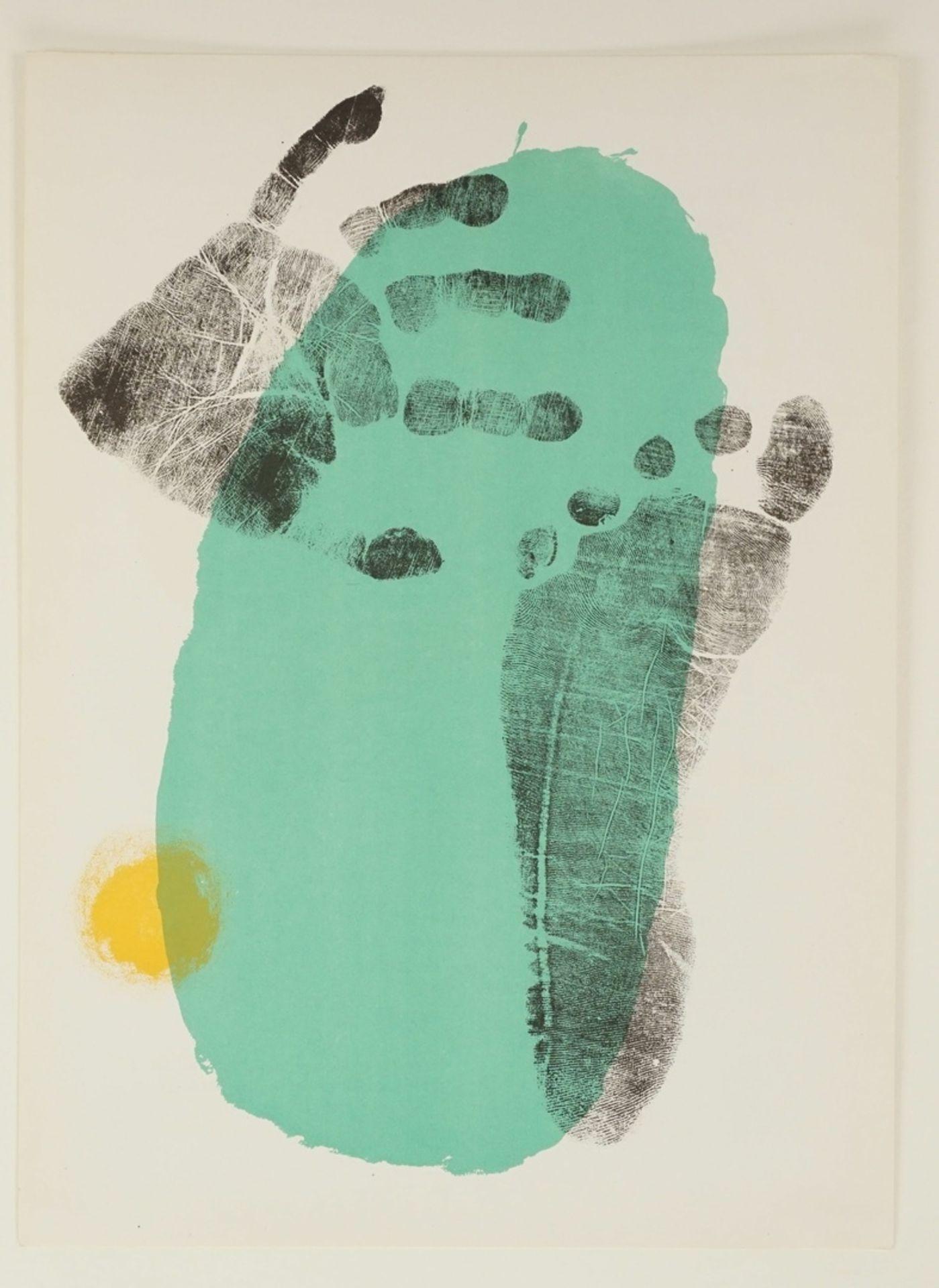 """Joan Miró, """"Pie y mano"""" (Hand und Fuß) - Bild 3 aus 4"""