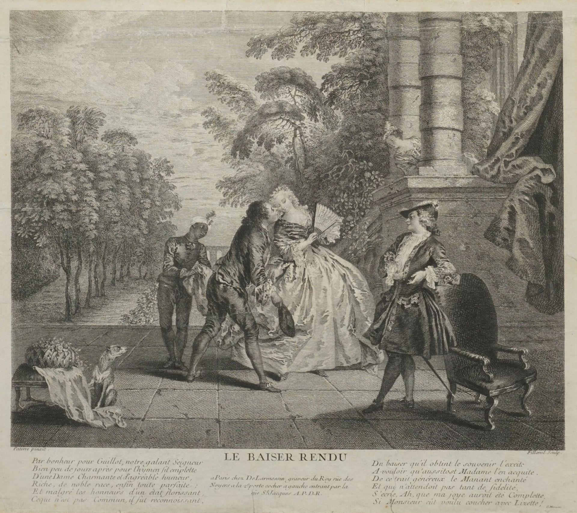 "Pierre Filloeul, ""Le Baiser Rendu"" (Der erwiderte Kuss)"