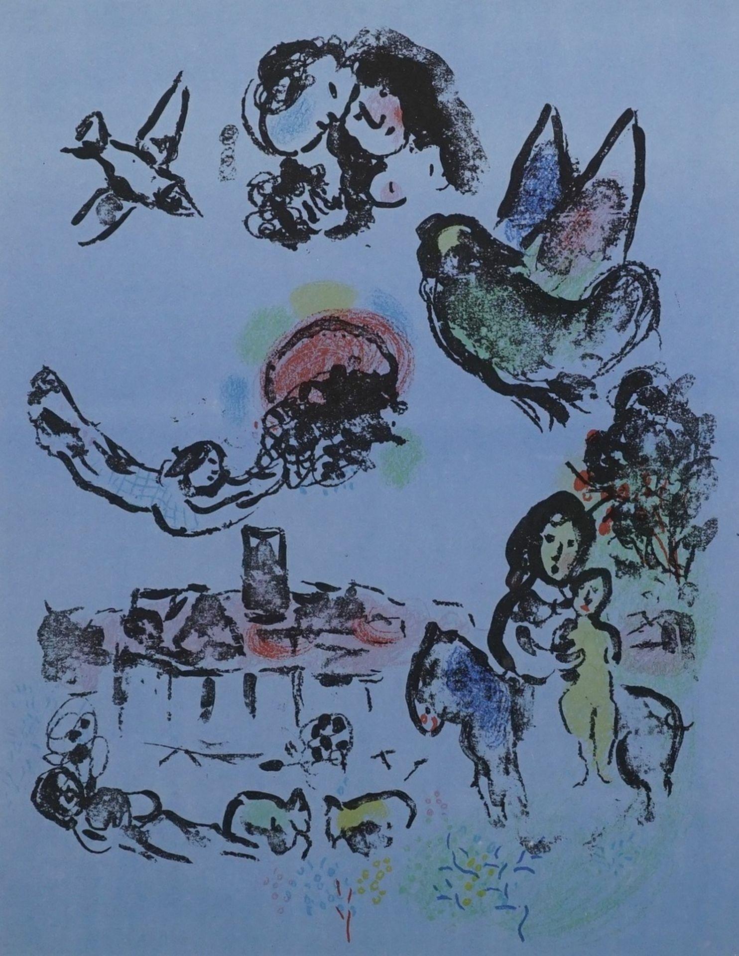 """Marc Chagall, """"Nocturne à Vence"""" (Nächtliches Vence)"""