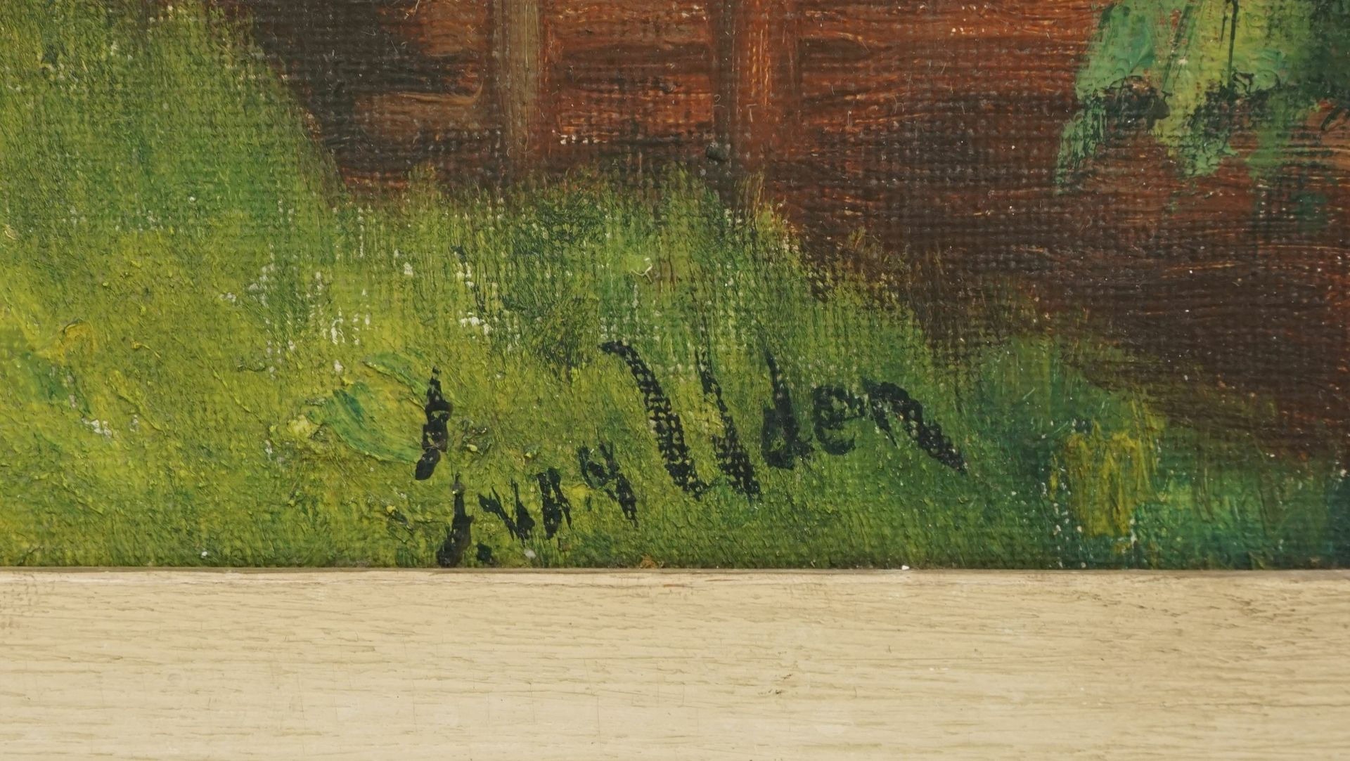 """J. van Uden, """"Bergdorf"""" - Bild 4 aus 4"""