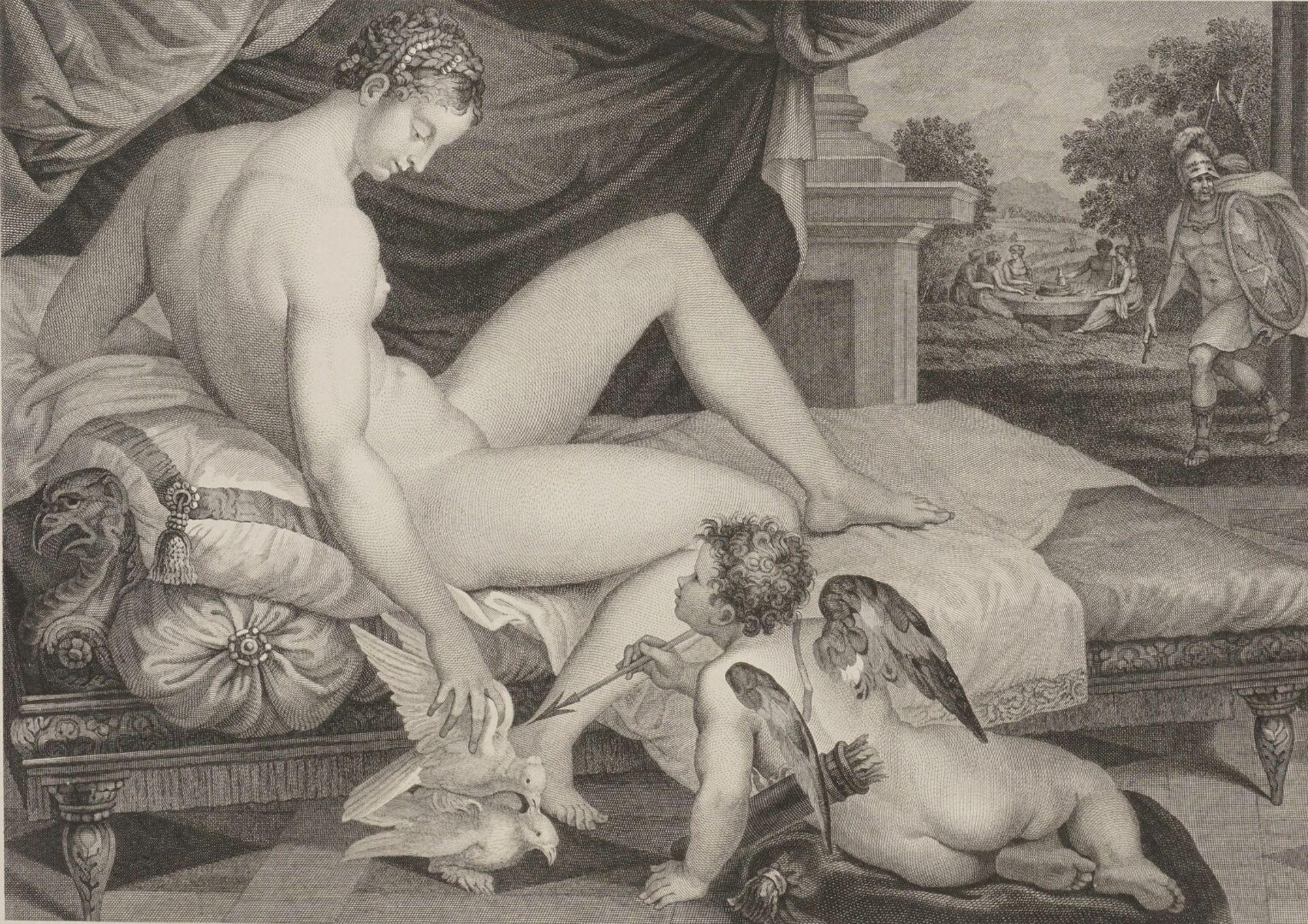 "Lambert Sustris, ""Vénus et l'Amour"" (Venus und Amor)"