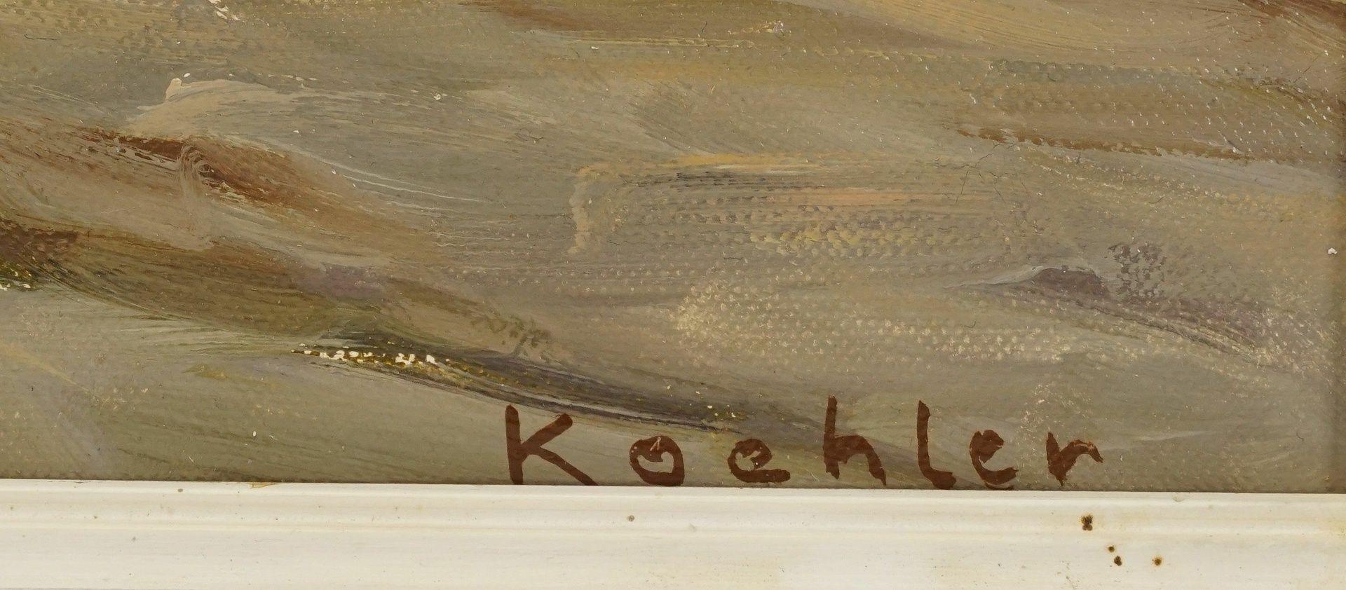 Koehler, Harzlandschaft mit Brockenblick - Bild 4 aus 4