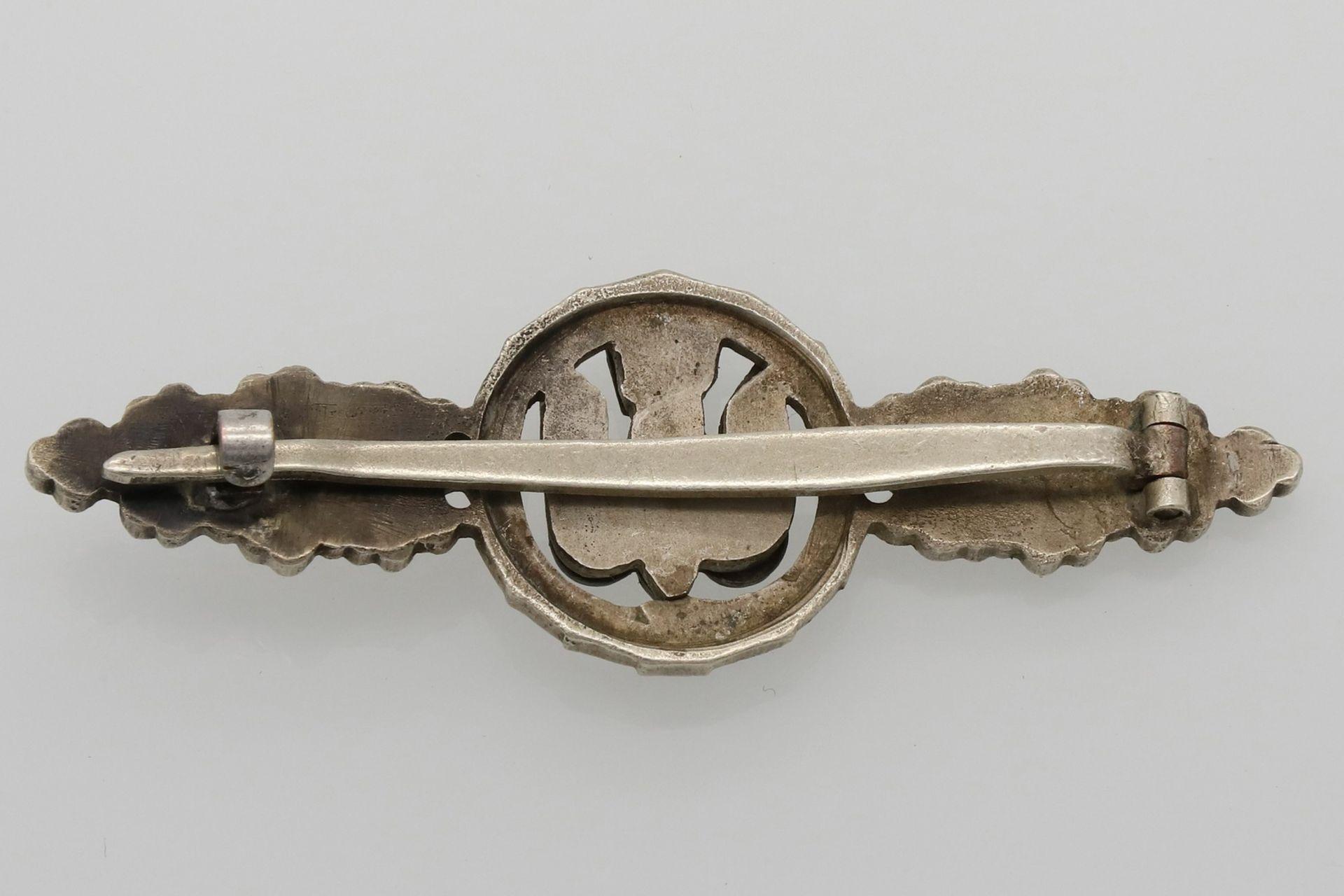 Frontflugspange für Kampfflieger in Silber - Bild 2 aus 3