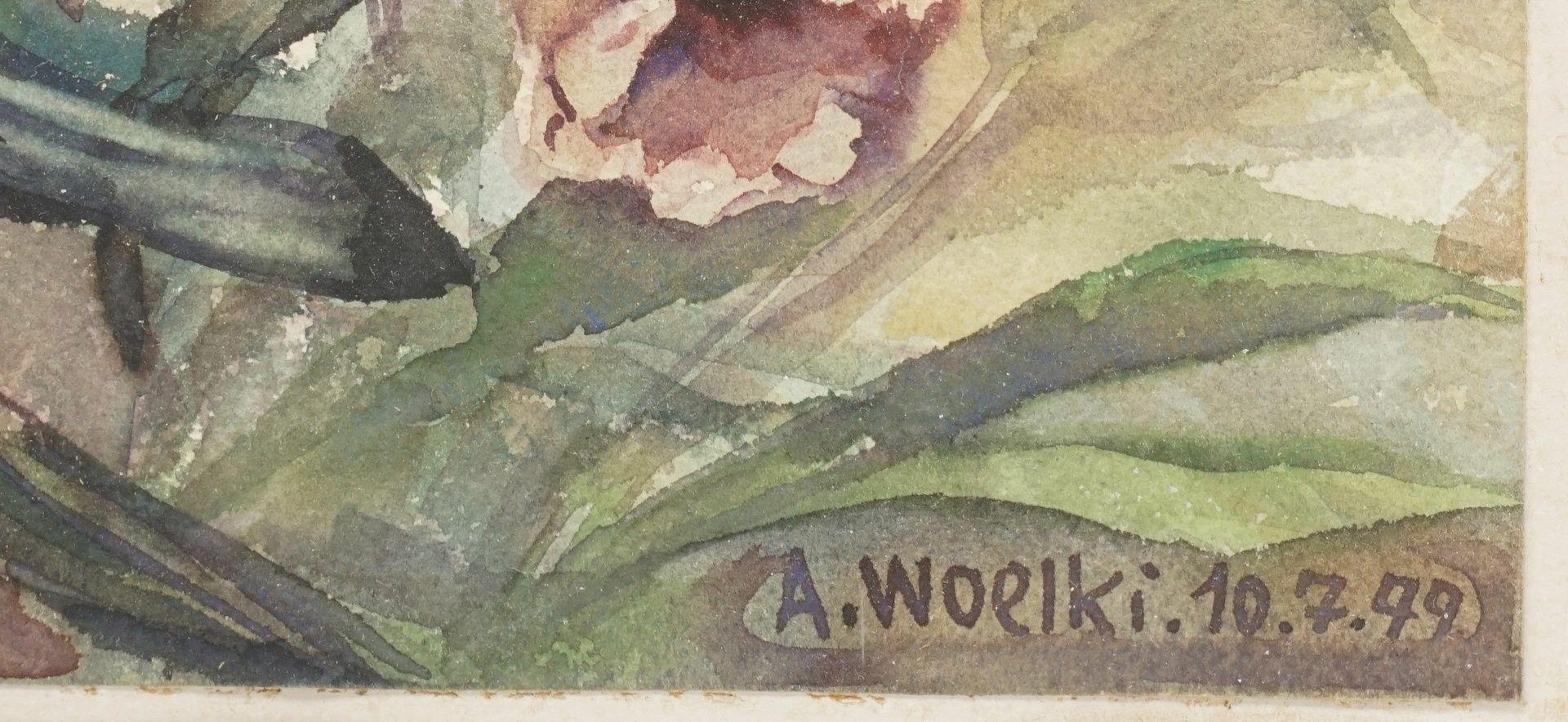 Anton Woelki, Fingerhut und Tigerlilien - Bild 3 aus 3