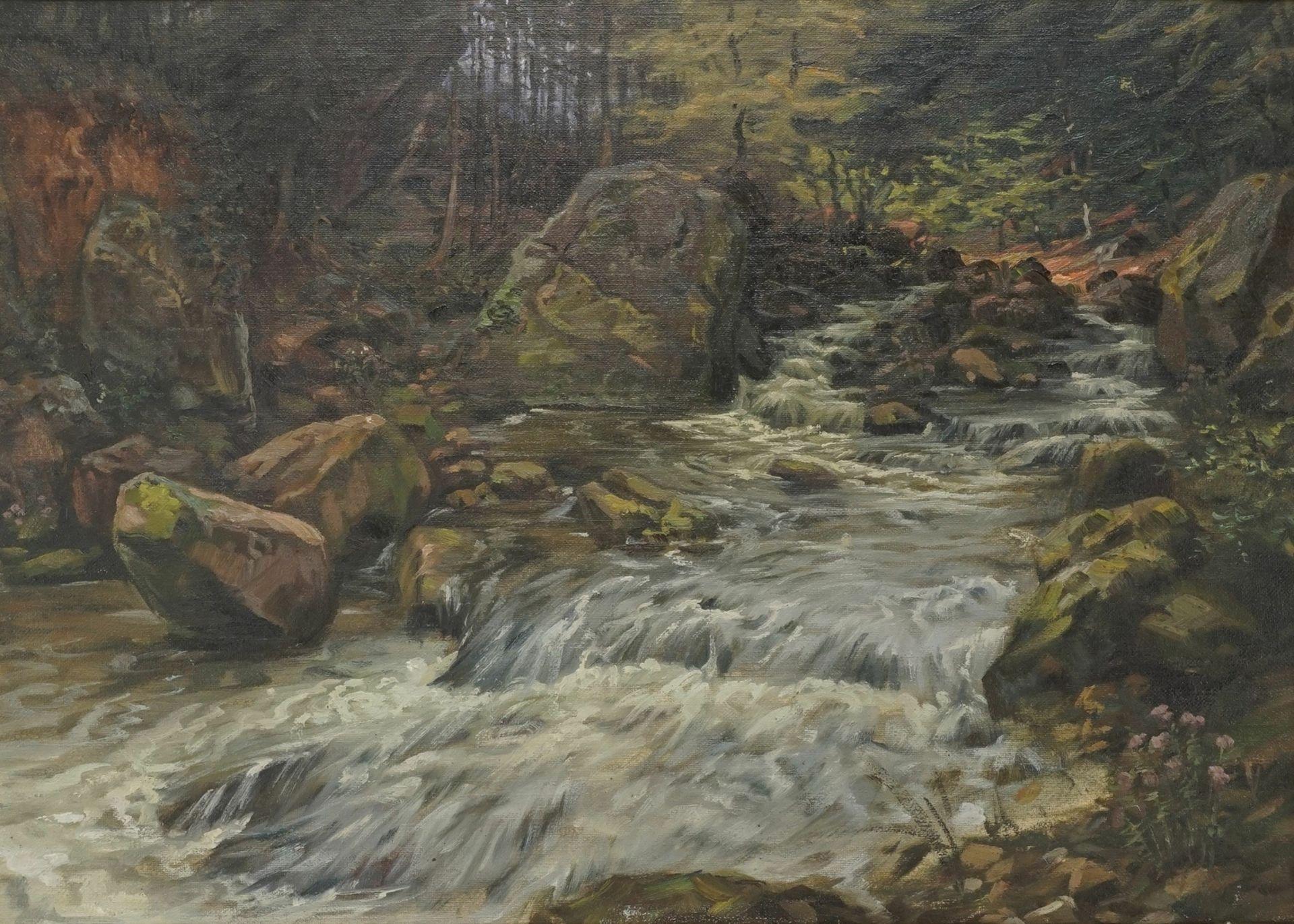 """Friedrich Wilhelm Emil Bollmann, """"An der Bode"""" - Bild 2 aus 3"""