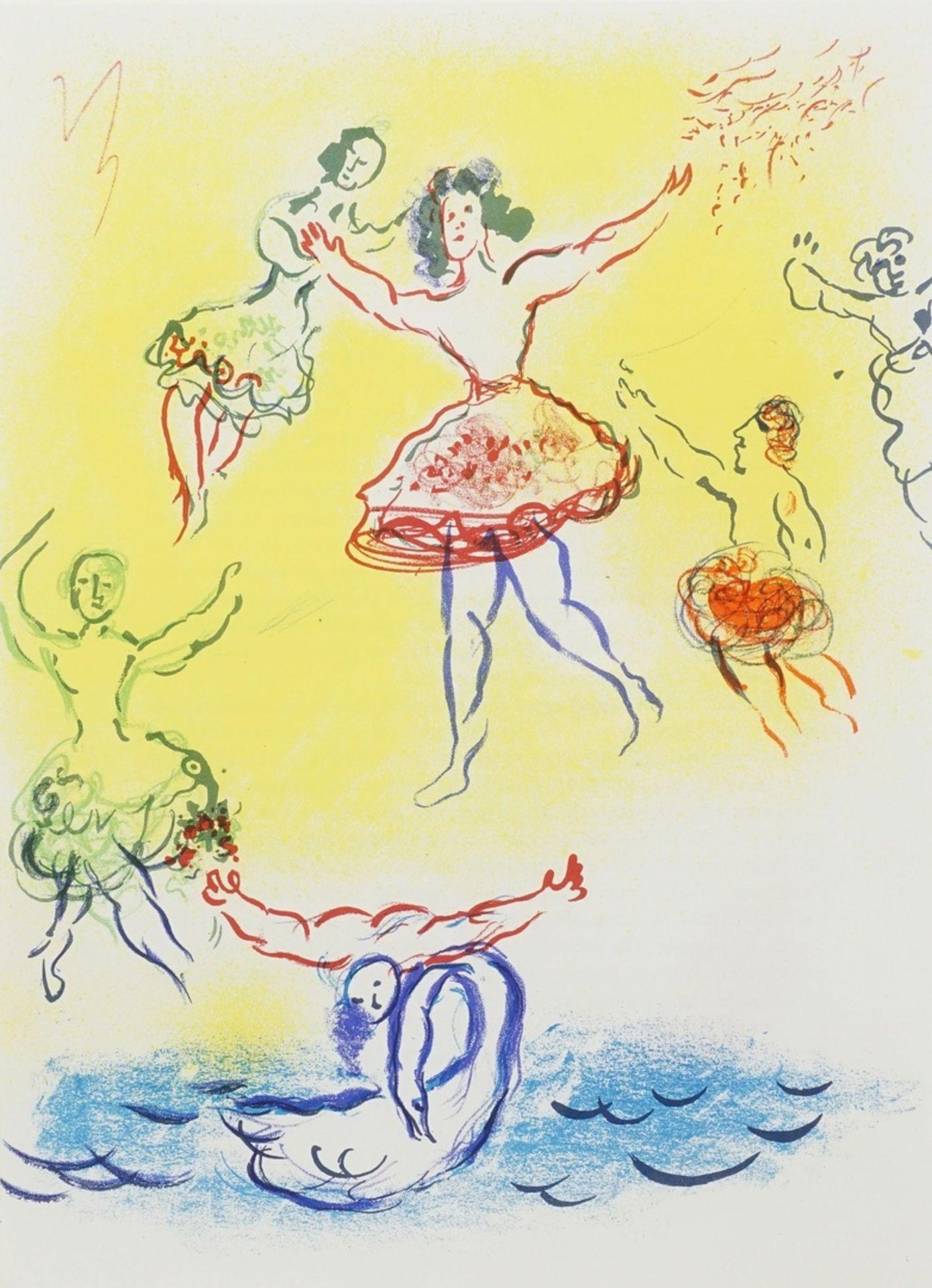 "Marc Chagall, ""Le Lac de Cygnes"" (Schwanensee)"