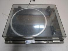 TECHNICS DC SERVO AUTOMATIC TURNTABLE SYSTEM SL-BD20