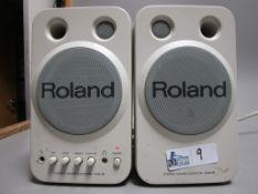 LOT OF 2 ROLAND MA-B MONITORS