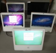 LOT OF 8 IMAC COMPUTERS