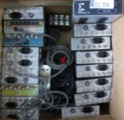3 BOXES CIRCUIT BOARDS/POWER SUPPLIES/SIGMA