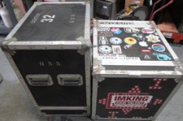 LOT OF 2 ROAD CASES