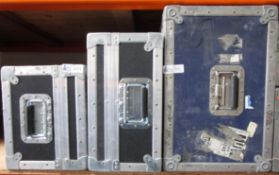 LOT OF 3 ROAD CASES