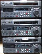 LOT OF 3 SONY MSW-M2000