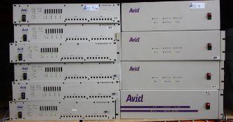 LOT OF 15 AVID DIGI DESIGN 1/O BOXES