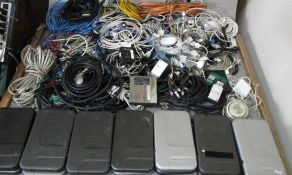 LARGE LOT ELECTRONICS WITH CABLES/INTERFACE BOXES