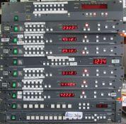 LOT OF 10 KRAMER ELECTRONICS