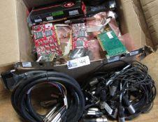 BOX COMPUTER BOARDS/I/O HARNESSES