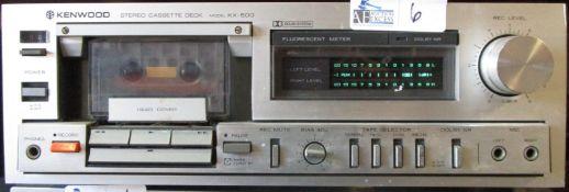 KENWOOD KX-500 CASSETTE DECK