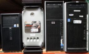 LOT OF 4 COMPUTERS