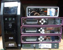LOT OF 6 ELECTRONICS