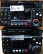 LOT OF 2 SONY PDW-HD1500
