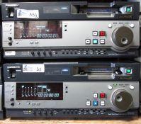 LOT OF 2 PANASONIC AJ-SD930 DVC PRO 50
