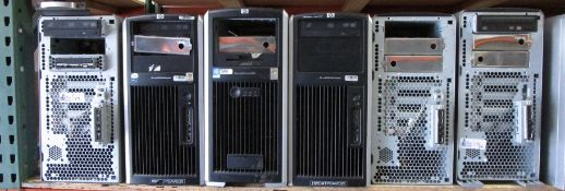 LOT OF 6 COMPUTERS