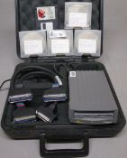 SYQUEST EZ135, ETXSC51 WITH DRIVES IN CASE