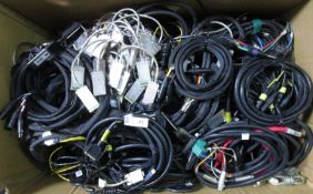 LARGE BOX MISC CABLES